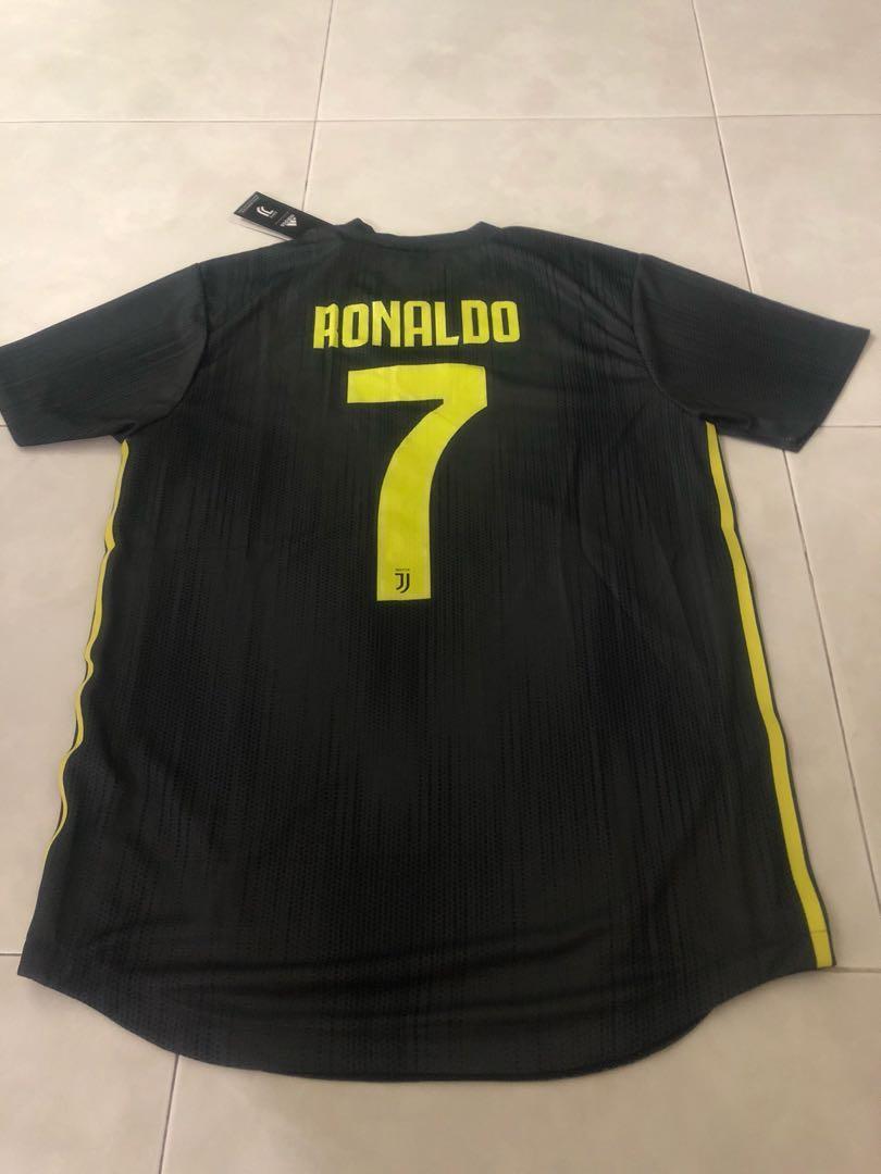 new product 5b00e d1017 New 18/19 Season Juventus 3rd Kit Jersey M Size Ronaldo 7 ...