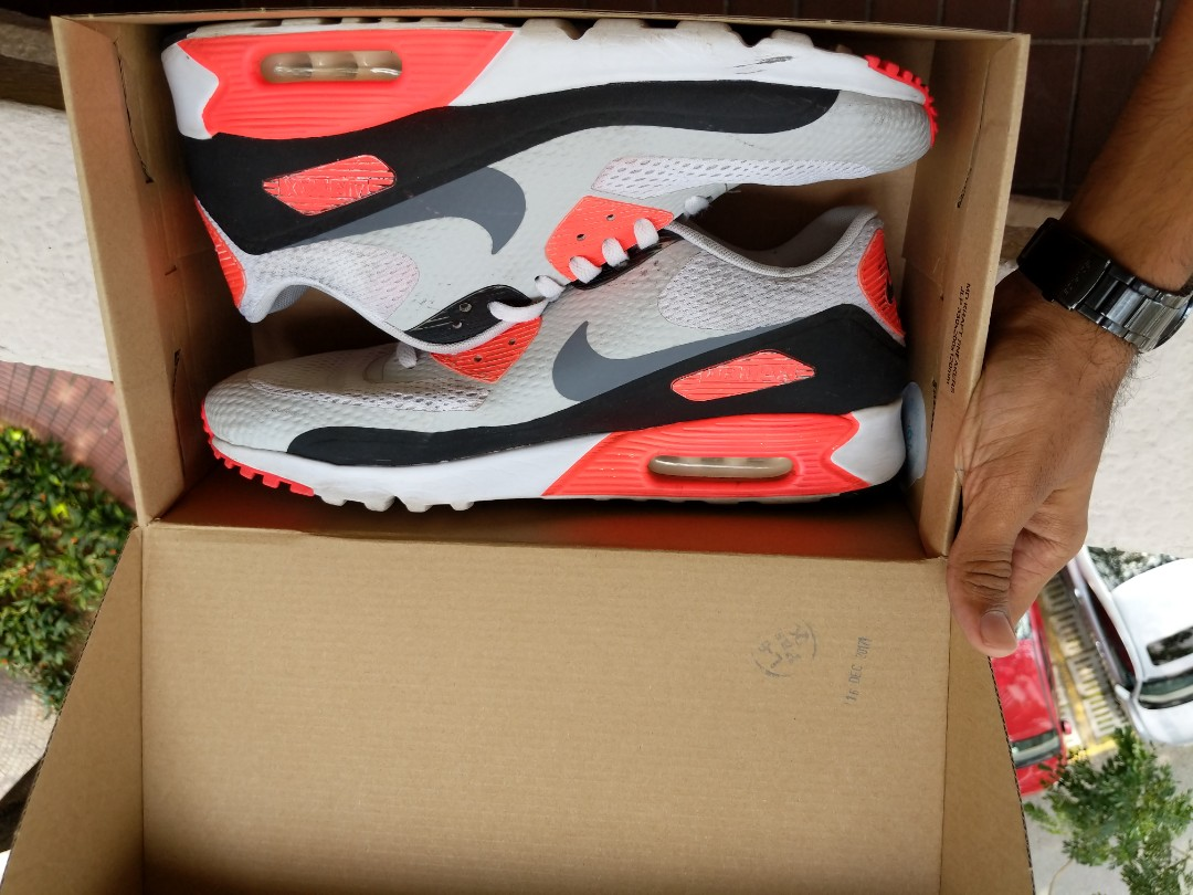 the latest a10c4 08671 Nike Air Max 90 Infrared OG US12, Men s Fashion, Footwear, Sneakers ...