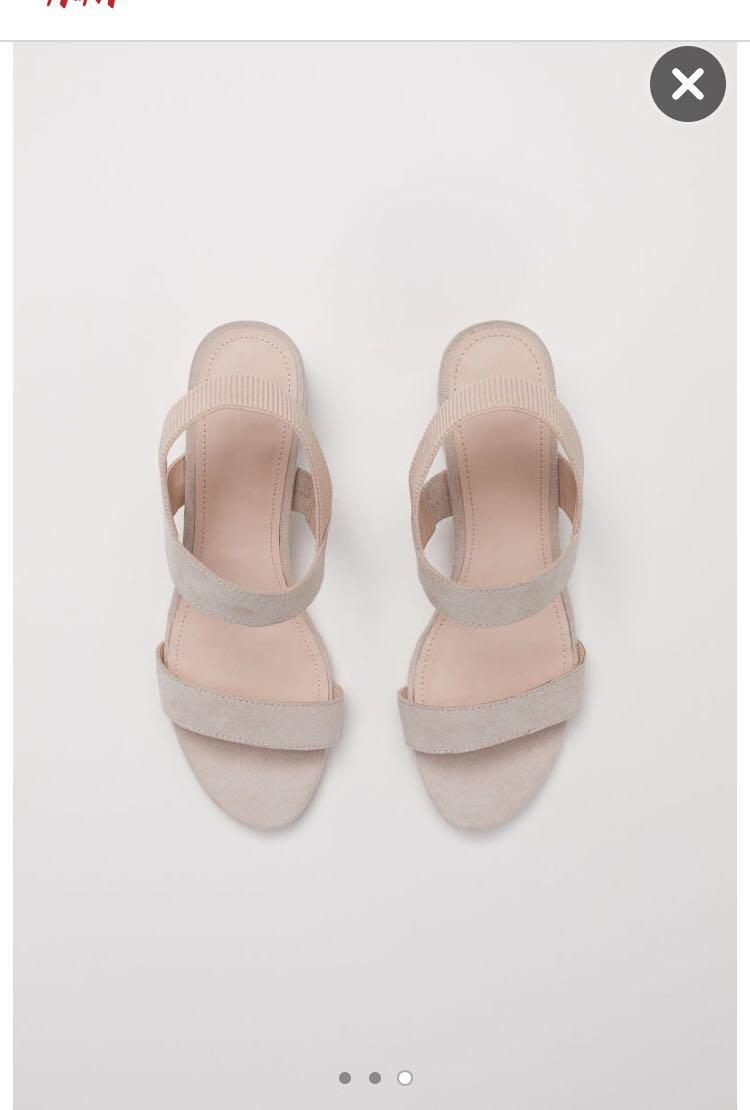 Nude H&M Sandals - new!