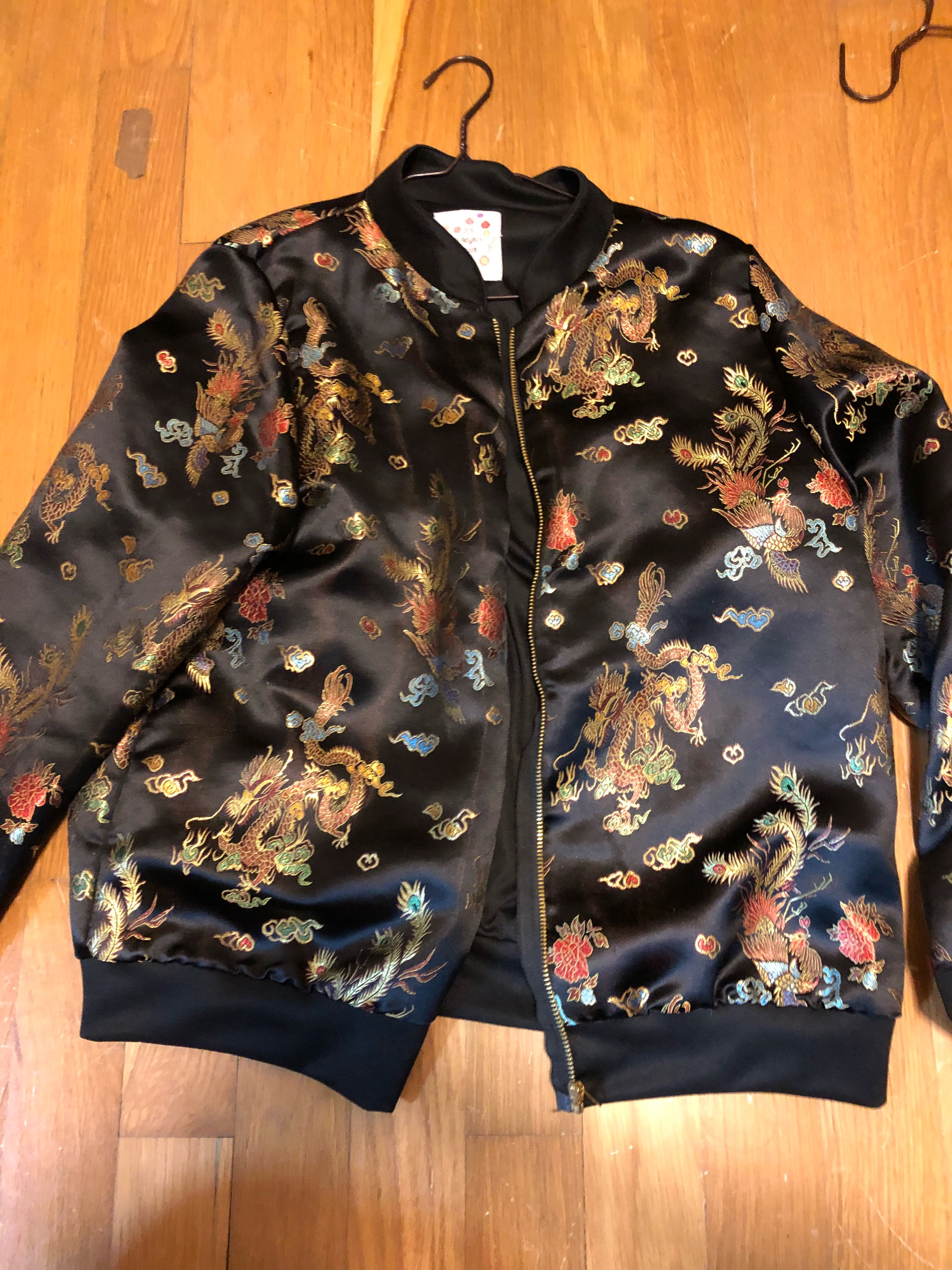 fafd4d667b O MIGHTY GONG LI BOMBER AND BRALETTE
