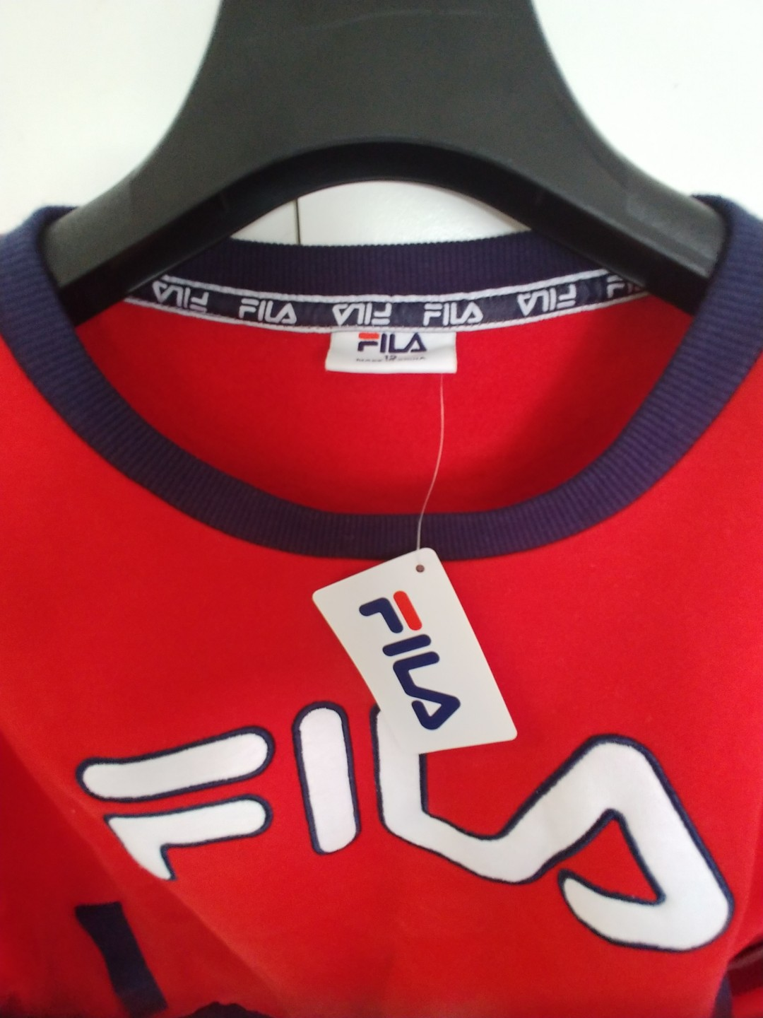 3274b123e51 On hand and BNEW with tag Fila cropped pullover