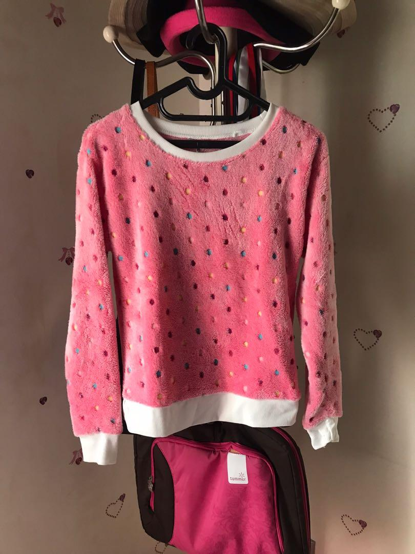 Pink sweater