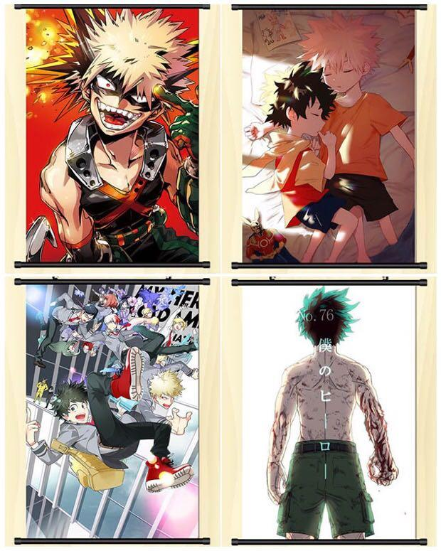 [PO] My Hero Academia Assorted Wallscrolls