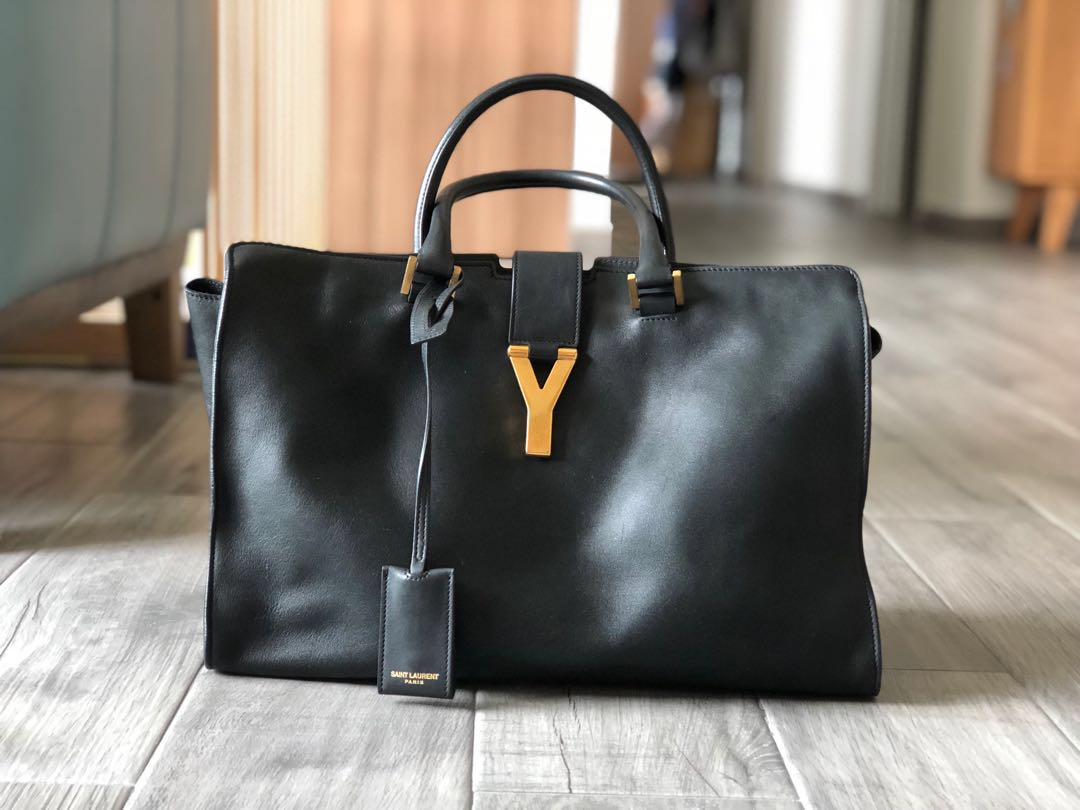 e1b42de51e27 Saint Laurent YSL Y ligne cabas bag