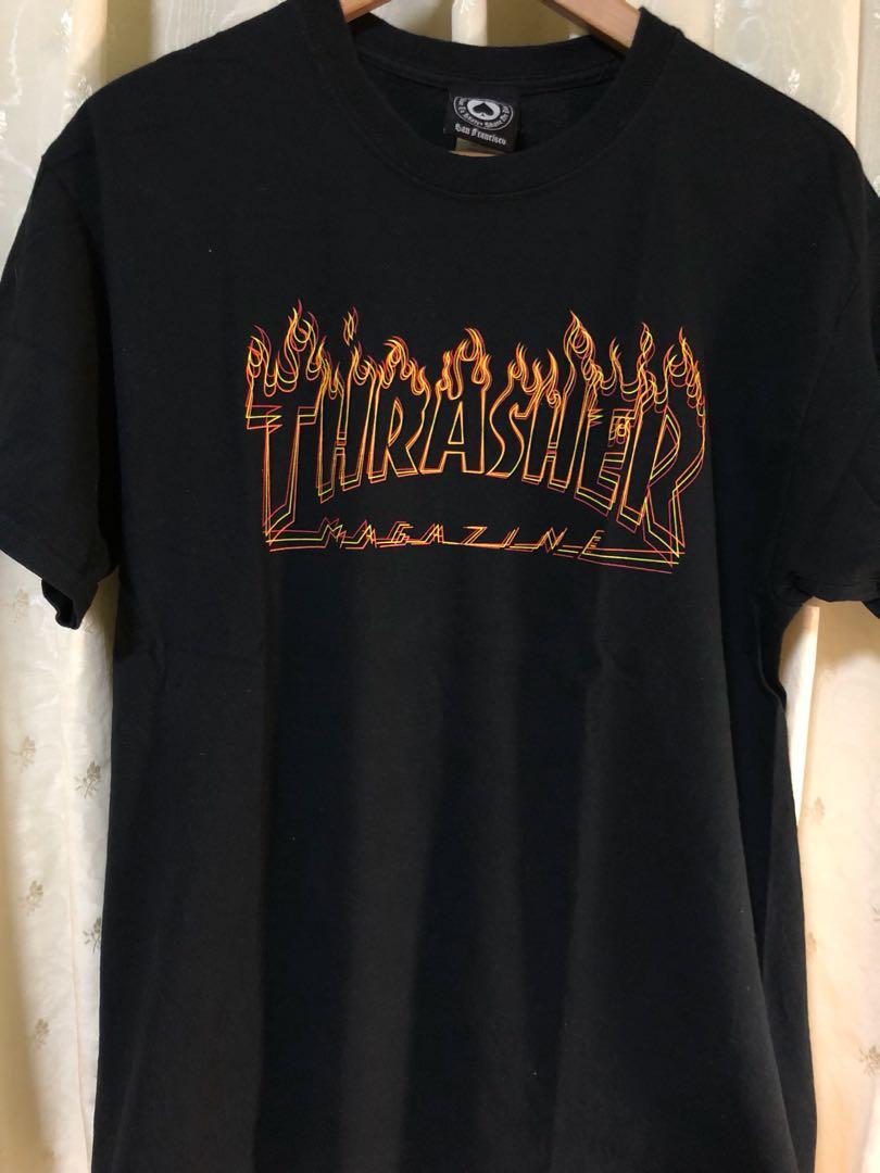 7942cbbd4d07 Thrasher Magazine Richter Flame Tee