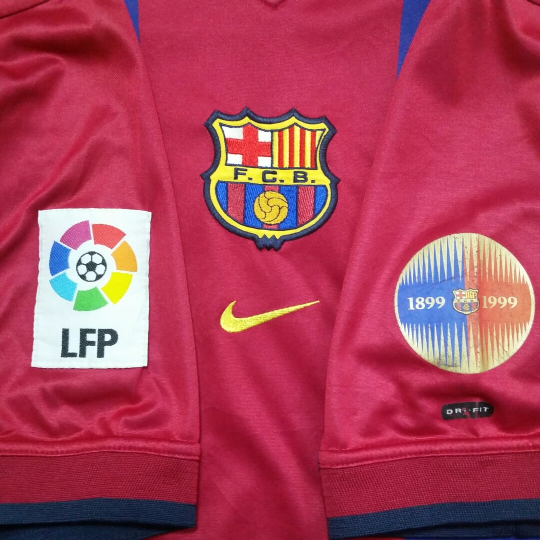 low priced 81742 b9763 Vintage FC Barcelona Home Jersey 2000