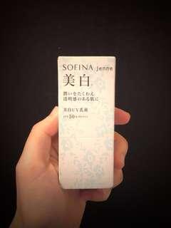 Sofina jenne 美白防曬乳液 SPF50+ PA++++ 30ml