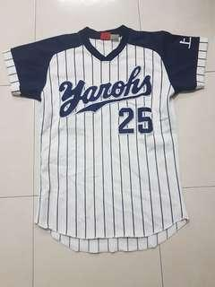 Baseball Shirt striped varsity