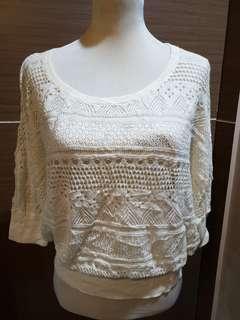 Medium Crochet Knit Blouse