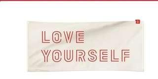 💜[LAST PIECE] 💜BTS LY Towel