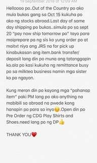 KINDLY READ FIRST..THANK YOU♥️