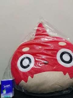 怪物彈珠 Monster Strike 大Cushion 咕𠱸 公仔