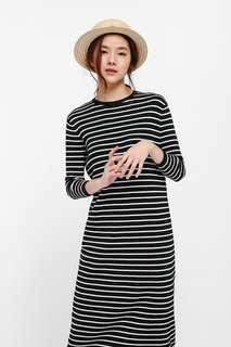 LB Dyliki Striped Mid T-shirt Dress