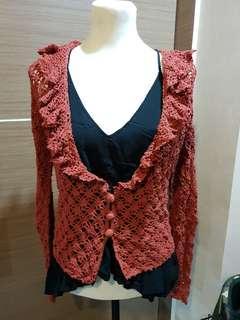 Small Crochet Cardigan