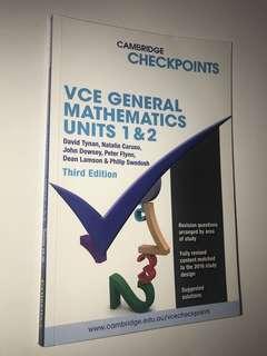 VCE General Mathematics Unit 1 & 2 (Checkpoints)