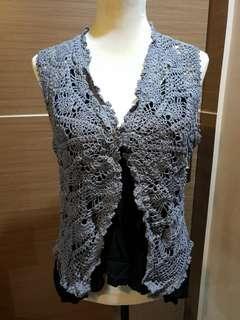 Crochet Knit Vest