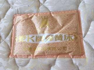 老k牌雙面厚片式彈簧床