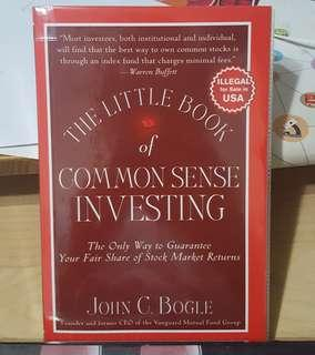 The Little Book of Common Sense Investing, by John C. Bogle