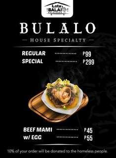 Special Bulalo