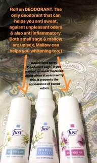 Deodorant anti perspire & whitening
