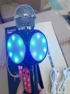 Mic Karaoke Bluetooth Portable