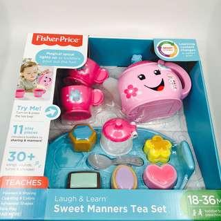 ~Ready Stocked~ Fisher-Price Laugh & Learn Sweet Manners Tea Set