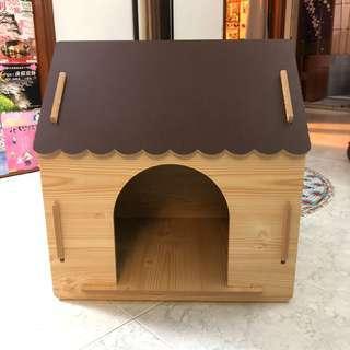簡易木狗屋