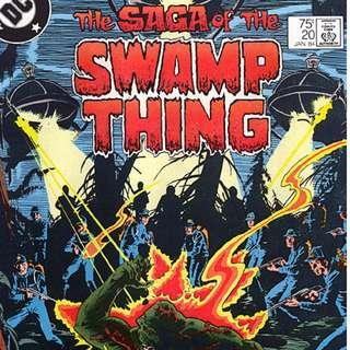 DC'S SAGA OF THE SWAMP THING (1982) #20 (1st ALAN MOORE)