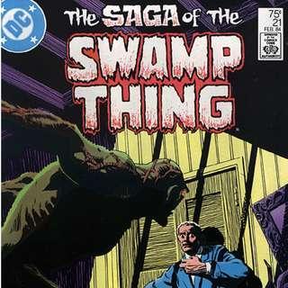 DC'S SAGA OF THE SWAMP THING (1982) #21
