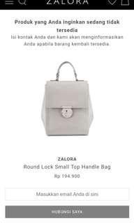ZALORA LOCK SMALL HANDLE