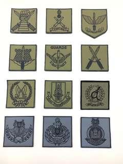 Unit Patch Badge. Male Velcro at the Back.