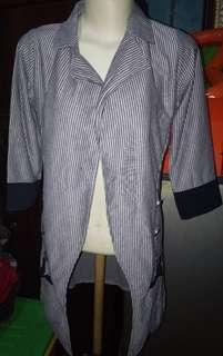 Baju cardigan semi blazer