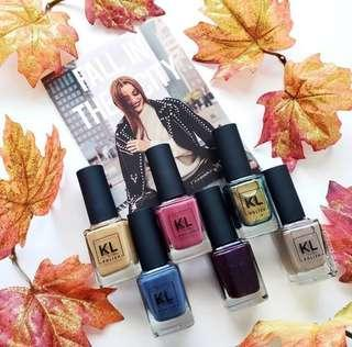ORDERED[🍂COMING SOON🍂] KL POLISH FALL IN THE CITY COLLECTION/INDIVIDUAL PREORDER PO SPREE