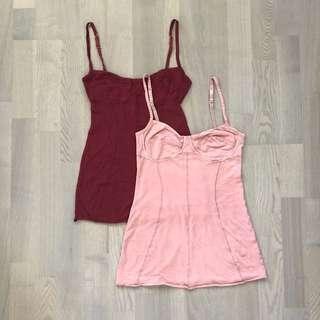 Aritzia Wilfred Bustier Tank Tops (2 for $6)