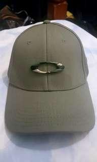 Authentic Oakley Camo Green Cap