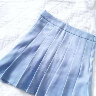🚚 ☁ Pastel Blue Tennis Skirt