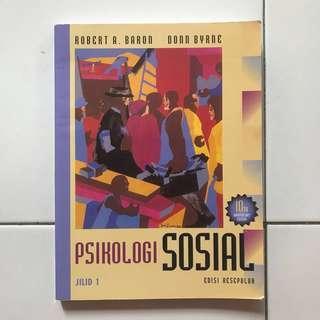 Psikologi Sosial Jilid 1 - Baron & Byrne