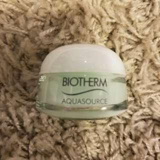 biotherm 溫泉水Aquasource gel cream 15ml