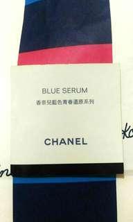 Chanel 香奈兒 藍色青春還原露*1+眼霜*1