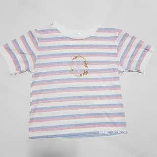 🚚 🌈 Pastel Stripe Top/Tee