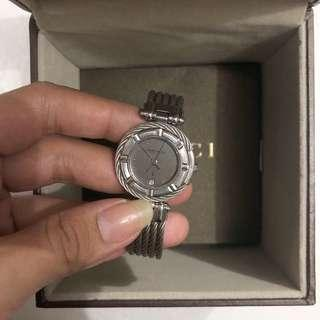Charriol Platinum Watch Stainless Authentic