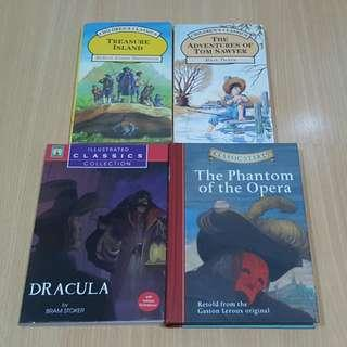 Children's classics book bundle of 4