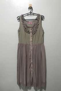 Mogao Brown Dress