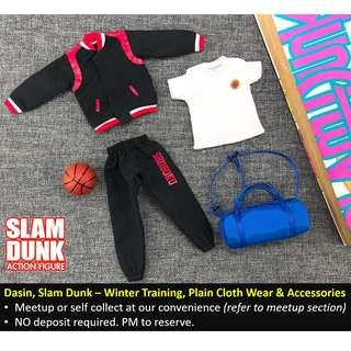 Dasin, Slam Dunk, Shohoku Winter Training + Plain Clothe Wear + Accessories