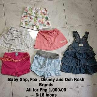 Pre Loved Baby girl shorts