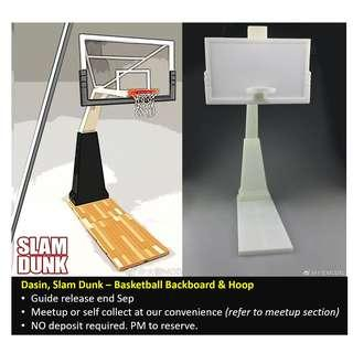 [Preorder] Dasin, Slam Dunk, Basketball Backboard + Hoop