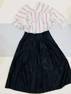 🚚 黑色圓裙