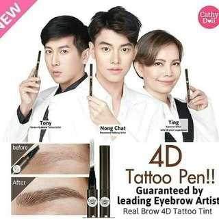 Realbrow 4D tatto tint by cathy doll