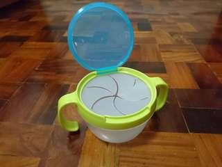 Toddler Spill Proof Double Handle Snack Bowl