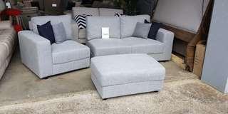Brandnew Adri 3 seater sofa with chaise